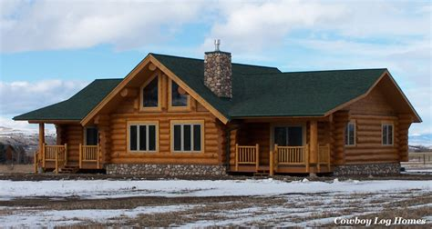 ranch floor plans log homes ranch style log home plans