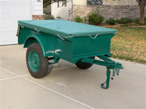 bantam jeep trailer look what was 2 5 miles away 655 the cj2a page forums