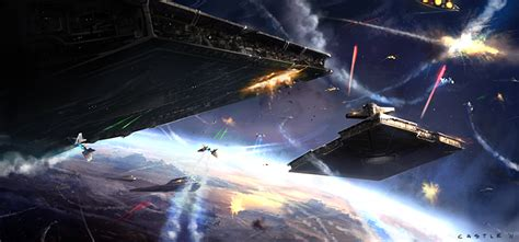 star wars battles concept art space battles image the jedi order mod db