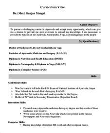 How To Write A Resume For A Doctor by Fresher Doctor Resume 3 Free Word Pdf Documents Free Premium Templates