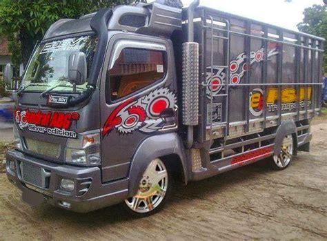 Modifikasi Mobil Canter kumpulan foto modifikasi truk canter terbaru modif motor