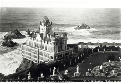 san francisco cliff house sutro baths and the cliff house