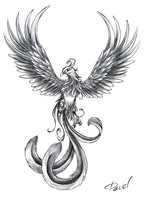 black and grey phoenix tattoo designs 50 tattoos designs