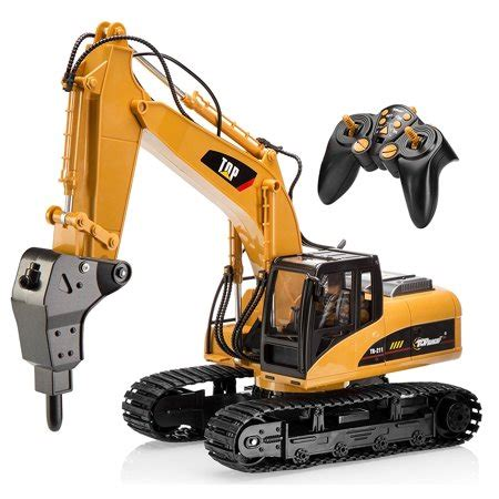 Rc Beko Excavator 8 Channel top race 16 channel professional remote drill