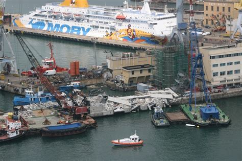 genoa italy port jolly nero incident photos and at port of genoa
