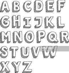 Design Lettre De L Alphabet アルファベットのイラスト素材と絵 Getty Images