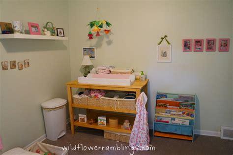 montessori baby room our montessori baby room rabbit nursery wildflower ramblings