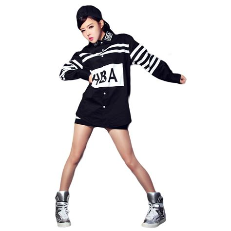 popular hip hop dance clothes girls buy cheap hip hop dance clothes girls lots from china hip