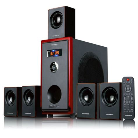 5 1 home theater surround sound speaker system 800 watts