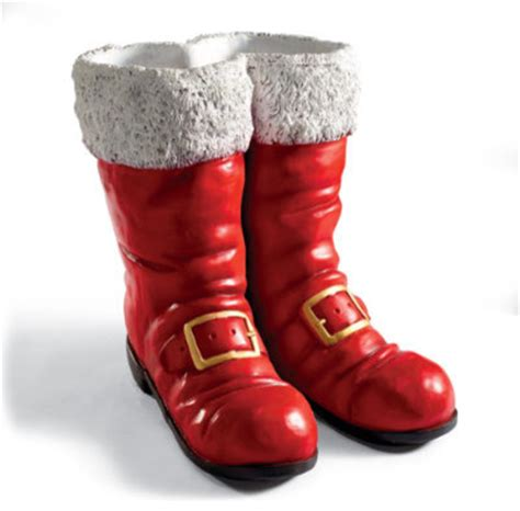 oversized santa boots traditional paintings by