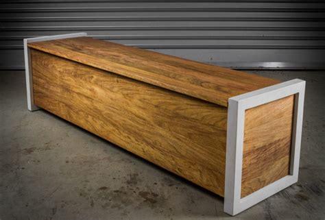 storage bench modern contemporary outdoor storage bench