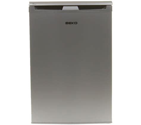 under cabinet fridge freezer buy beko lx5053s undercounter fridge silver free