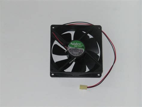 Nidec Ta350dc M33910 16 24v 0 22a 2wires Cooling Fan