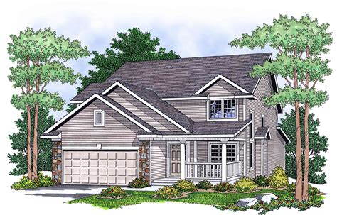 Two Story Country House Plans by Two Story Country Home Plan 8982ah Architectural
