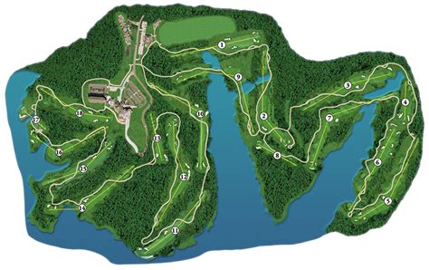 golf course layout design toledo bend lake map
