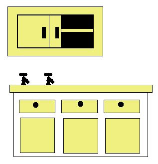 furniture in the kitchen in the kitchen vocabulary learn vocabulary