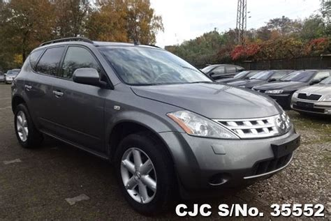 automobile air conditioning repair 2009 nissan murano seat position control 2005 left hand nissan murano grey metallic for sale stock no 35552 left hand used cars exporter