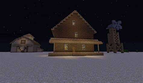 courage  cowardly dog home minecraft project