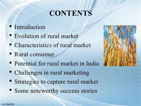 Rural Marketing Notes For Mba by Rural Marketing Ppt