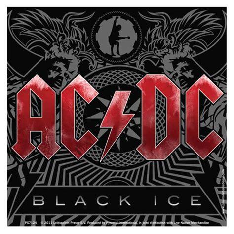 Stiker Ac ac dc black sticker ca 10x10