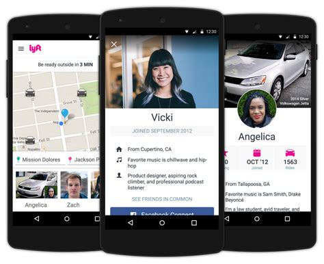 new for android lyft profiles lyft - Lyft Android