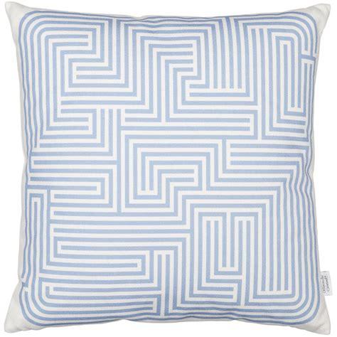 Maze In Blue vitra cushion maze blue