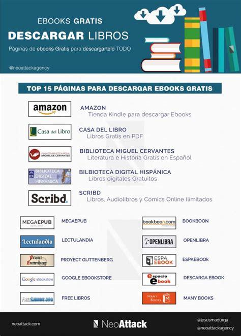 paginas para descargar libros en español gratis en pdf d 243 nde descargar ebooks gratis pdf en espa 241 ol neoattack com