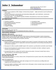 Resume Sle Professional by Demo Resume Sales