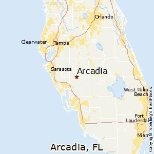 map of arcadia florida best places to live in arcadia florida