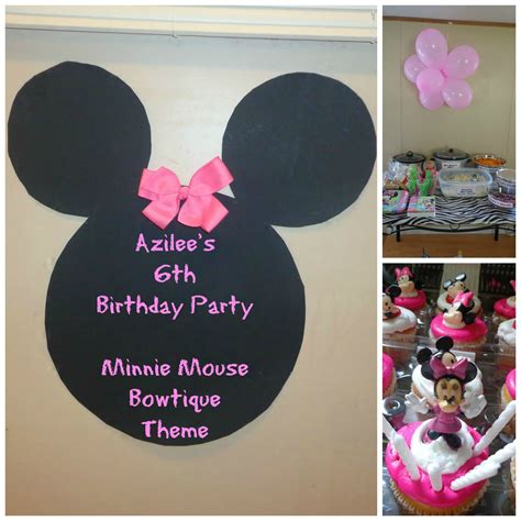 Minnie Mouse Decorations Diy by Diy Minnie Mouse Bowtique Theme Decorations