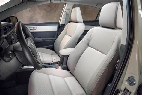 Toyota Corolla Leather Seats 2014 Toyota Corolla Test Drive Nikjmiles