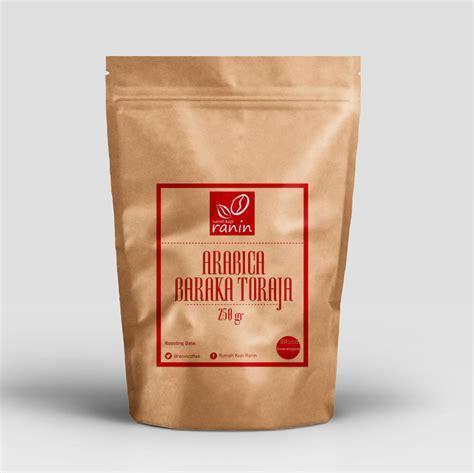 Kopi Arabika Toraja Kalosi 500gr Sulawesi arabika toraja rumah kopi ranin