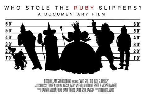who stole the ruby slippers who stole the ruby slippers by theodore kickstarter