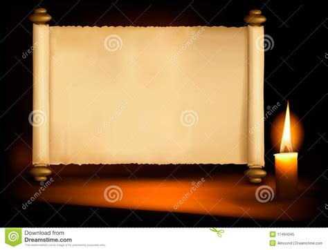 background   paper   candle vector royalty