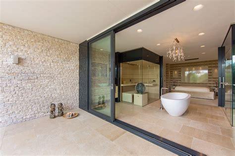 Modern Retro Home Design water villa wellness