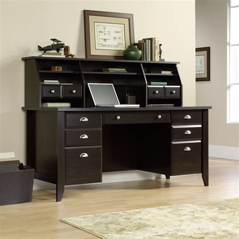 sauder shoal creek computer desk shoal creek executive office desk 408920 sauder