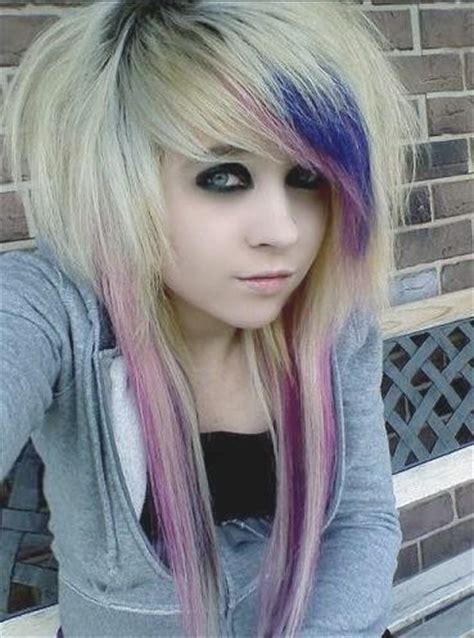 emo haircuts for thick hair emo hairstyles beautiful hairstyles