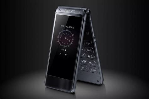 samsungs flip phone   launched  august