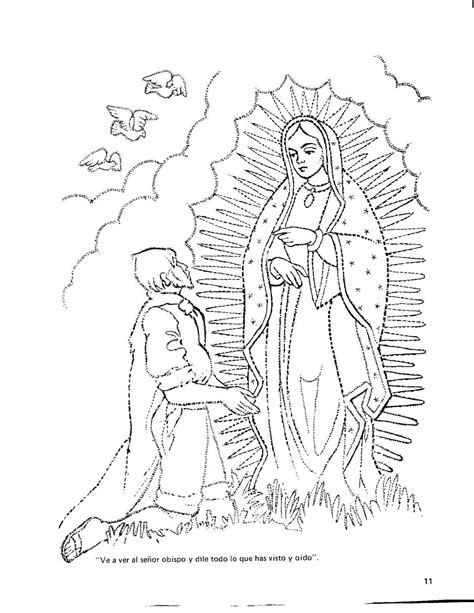imagenes dela virgen de guadalupe para colorear virgen de guadalupe coloring pages coloring home