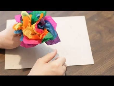 What Can You Make Out Of Tissue Paper - how to make tissue paper crafts paper crafts