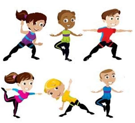 kids  yoga clipart clipground