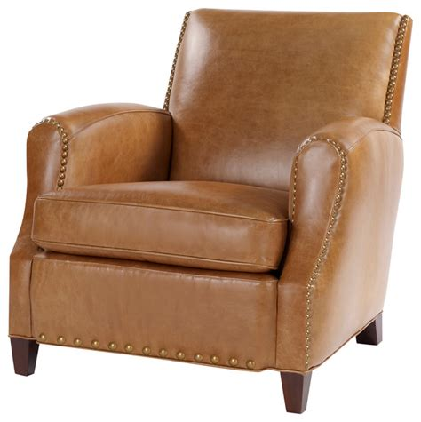 Armchairs And Accent Chairs Simon Retro Leather Chair Armchairs And Accent Chairs