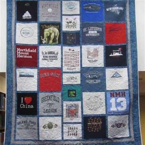 Handmade T Shirt Quilts - custom t shirt quilts timeless thread design