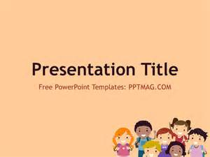 Family Powerpoint Templates Free by Free Children Powerpoint Template Pptmag