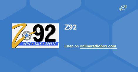 92 3 the fan listen online z92 listen live 92 3 mhz fm woodward united states