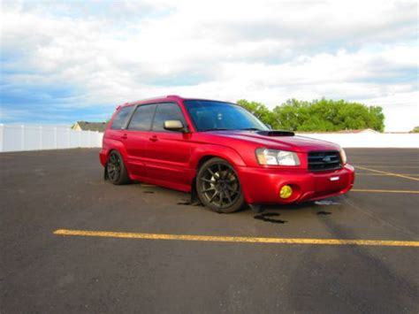 subaru 2004 custom purchase used 2004 subaru forester xt turbo manual 5