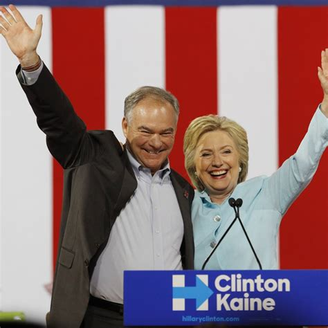 vice presidente clinton taps tim kaine for vice president but fails to