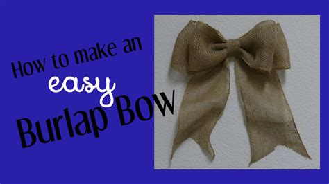 how to place burlap bow and burlap streamers on christmas tree how to make an easy bow for wreaths home decor