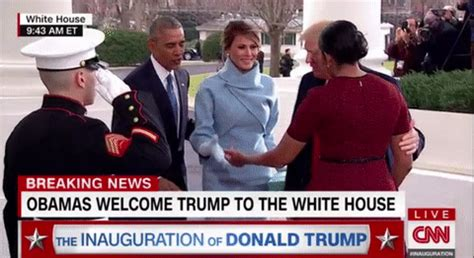 donald j trump inauguration day white house magnet michelle obama s inauguration day outfit outgoing flotus