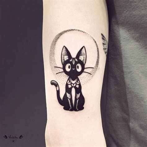 black cat tattoo hawaii jiji the black cat